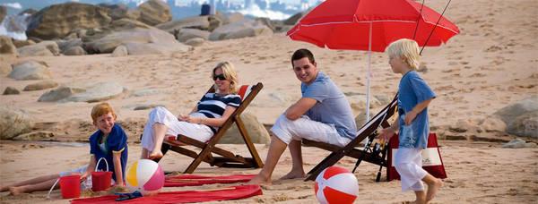 Khách sạn gần biển là lựa chọn tuyệt vời cho một chuyến du lịch gia đình.