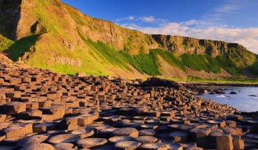 Giant's Caseway nổi tiếng ở Ireland. Ảnh: VnExpress