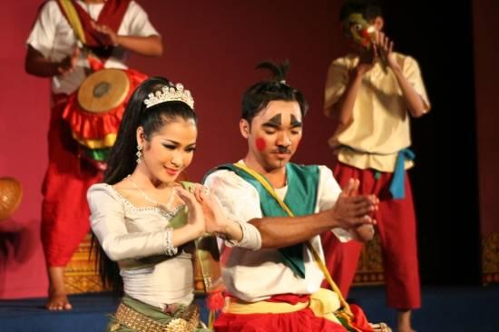 Hình ảnh của buổi trình diễn Plae Pakaa.