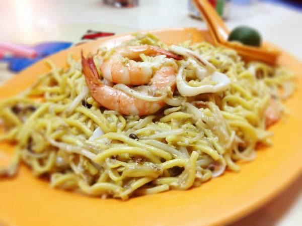 Mì Phúc Kiến là một trong những món ăn được yêu thích ở Singapore.