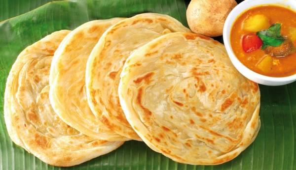 Roti là một món ăn điển hình của cộng đồng người Ấn ở Singapore.