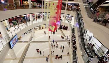 Trung tâm mua sắm Aeon Mall. Ảnh: Zing