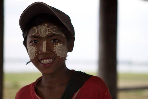 Nụ cười thân thiện của người dân Myanmar