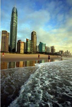 Gold Coast - thành phố bờ biển vàng của nước Úc.