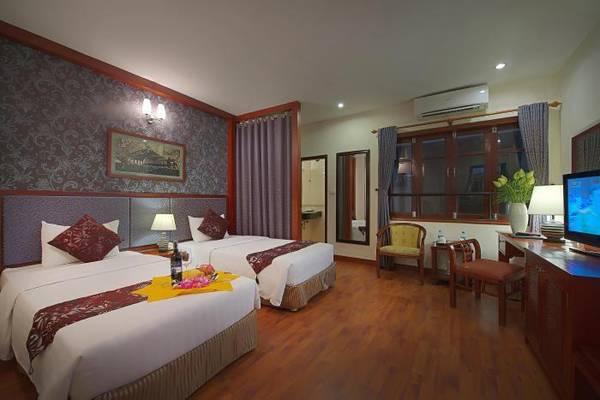 Phòng nghỉ tại khách sạn Gia Bảo Palace Hà Nội.