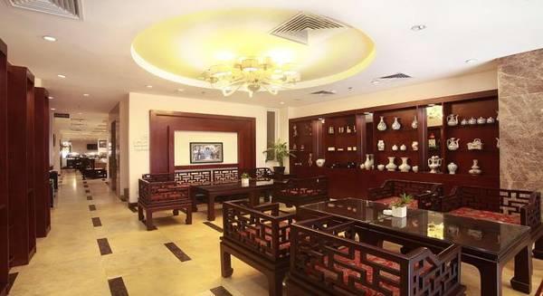 Nội thất tinh tế của khách sạn Gia Bảo Palace Hà Nội.