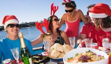 Do khí hậu nóng vào dịp Noel nên người dân châu Úc thường ăn những món đồ mát lạnh vào dịp này