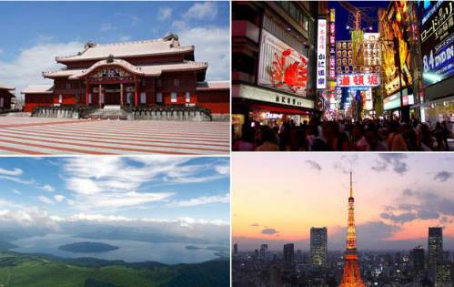 Du lịch Nhật Bản có rất nhiều trải nghiệm thú vị.