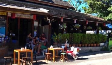 Pai là một thị trấn du lịch nhỏ, chỉ có khách du lịch theo dạng Tây balo là chủ yếu. Ảnh: Thiện Nguyễn