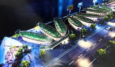 Phối cảnh mô hình Khu phố đêm ven sông Hàn. Ảnh: VTC News