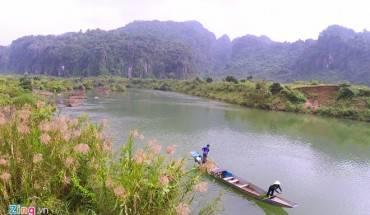 Quảng Bình được thiên thiên ưu ái cho cảnh sắc tự nhiên, sơn thủy hữu tình...