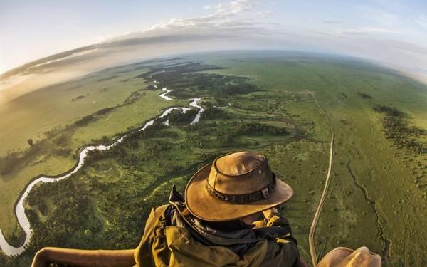 Cưỡi khinh khí cầu ở Khu bảo tồn Quốc gia Maasai Mara, đặc biệt là vào lúc bình minh sẽ luôn đảm bảo mang lại cho du khách nhiều trải nghiệm thú vị.