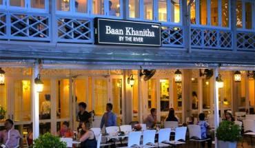 Nhà hàng Baan Khanitha là địa chỉ lý tưởng của du khách nước ngoài mỗi khi đặt chân tới Bangkok.