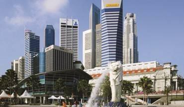 Tượng Sư tử mình cá - biểu tượng của Singapore