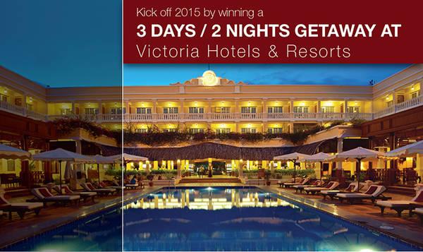Tham gia ngay để 'rinh' giải thưởng lớn từ chuỗi hệ thống Victoria Hotels & Resorts