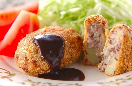 Beef Korokke - bánh khoai tây thịt bò