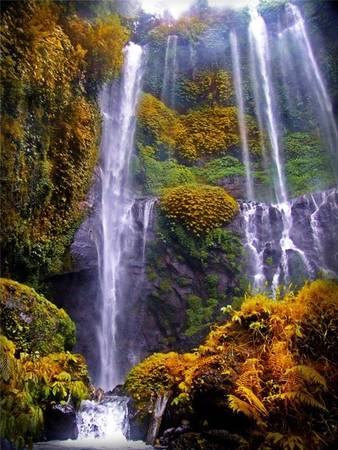 """Và ảnh chụp tại thác Sekumpul sẽ giúp bạn có được ít nhất là 20 người """"like""""."""