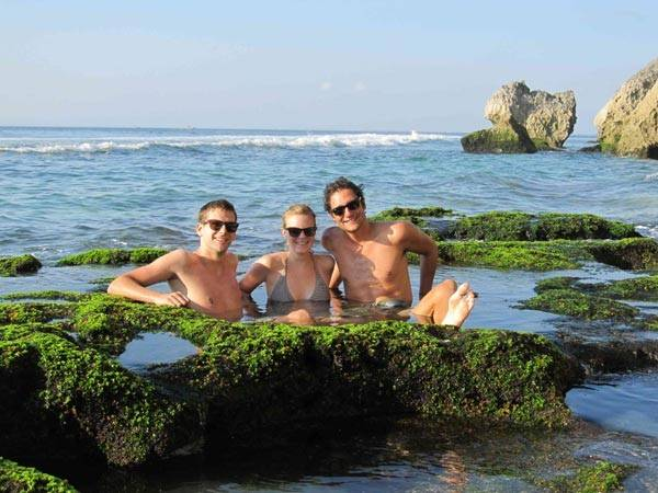 Tận hưởng một Bali trong lành...