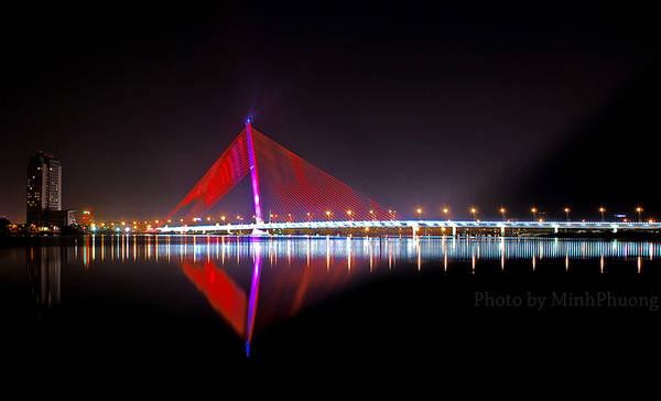 Cầu Trần Thị Lý - Cầu có gối trụ cầu lớn nhất thế giới