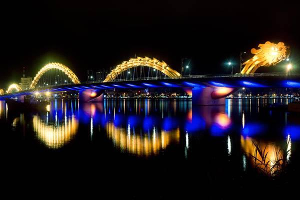 Cầu có chiều dài 666 m, gồm 6 làn xe, tổng vốn đầu tư 1.700 tỷ đồng và được đánh giá là điểm nhấn của du lịch Đà Nẵng.