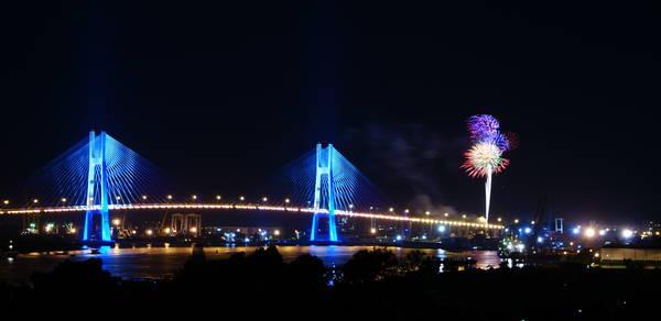 Cầu Phú Mỹ không chỉ là một công trình trọng điểm của Việt Nam, mà còn là công trình cầu dây văng hiện đại nhất thế giới.