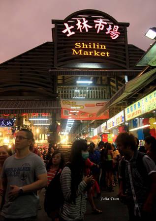 Chợ đêm Sĩ Lâm.
