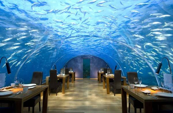 Khách sạn Conrad Maldives, đảo Rangali