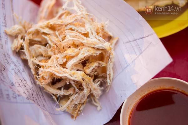 Người Hà Nội có cái thú nhắm mực nướng, dù là mùa đông hay mùa hè.