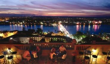 King's Panorama Bar – nơi lý tưởng để nhìn ngắm thành phố Huế từ trên cao. Ảnh: iVIVU.com