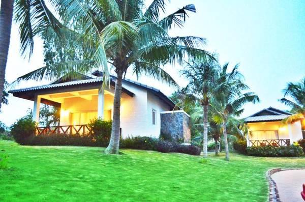 Những căn Bungalow xinh xắn tại khu nghỉ dưỡng Melon Phan Thiết.