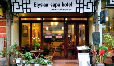 Khách sạn Elysian Sapa nhìn từ phía bên ngoài. Ảnh: iVIVU.com