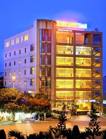 Khách sạn Kiều Anh nhìn từ phía bên ngoài.