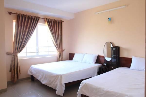 Khách sạn tọa lạc tại vị trí trung tâm của du lịch Vũng Tàu.
