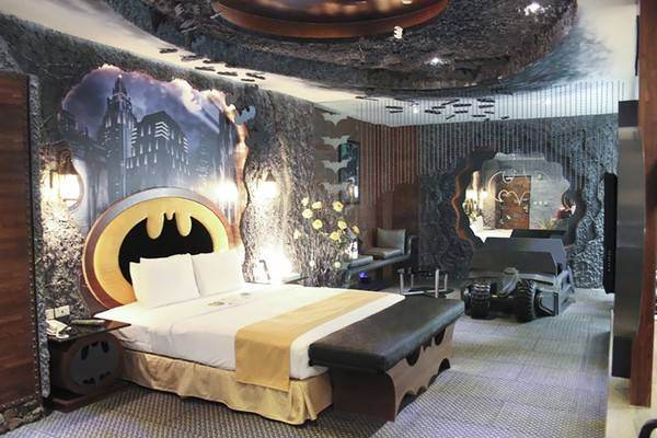 """Căn phòng khách sạn """"Hang dơi"""", Đài Loan"""