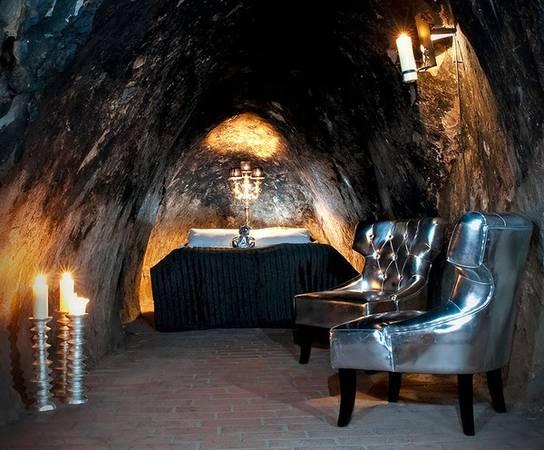 Khách sạn Sala Silvermine nằm dưới lòng đất tại Thụy Điển.