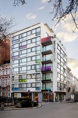 Khách sạn Pantone tọa lạc tại Brussels, Bỉ