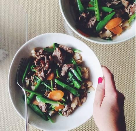 Món ăn nhanh rất dễ nấu, ngon, mượt mà và đậm đà