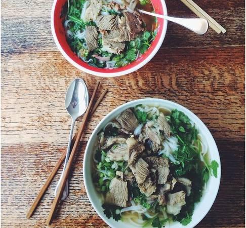 """""""Một tình yêu Việt Nam thực sự. Bạn cần phải thưởng thức món ăn này cho bữa sáng, bữa trưa và cả bữa tối""""."""