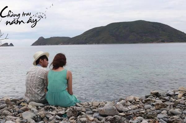 Một cảnh vô cùng lãng mạn giữa Đình Phong và Sky trong phim