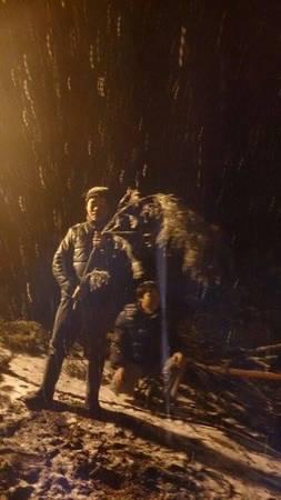 Tuyết bắt đầu rơi vào khoảng 19h30 tối