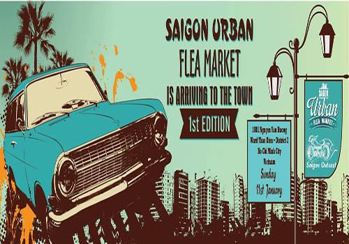 Saigon Urban Flea Market - không gian mua sắm mở ở Sài Gòn.