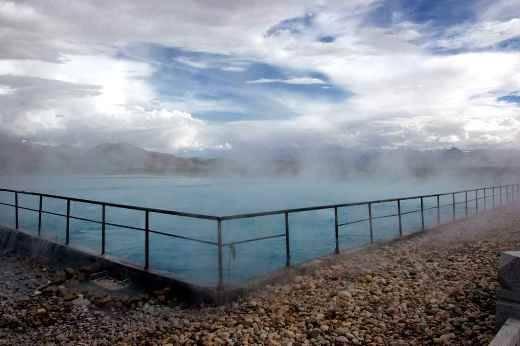 Yangpachen Hot Springs, Yangbajing, Tây Tạng