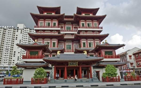 Chùa Răng Phật Singapore.