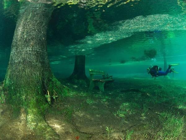 Hồ Green, Tragoess, Áo