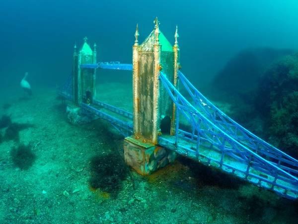 Bảo tàng dưới nước ở mũi Tarkhanku, Ukraine