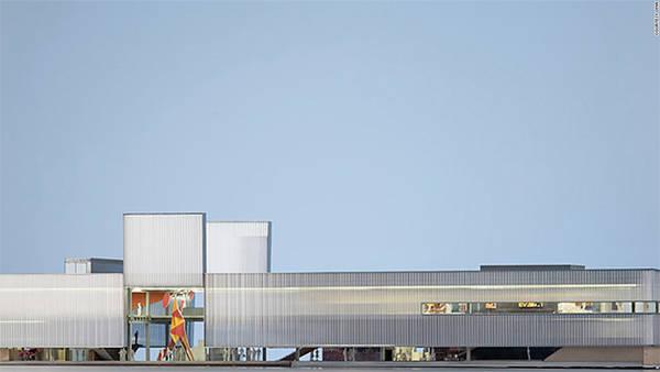 Bảo tàng nghệ thuật đương đại Garage, Moscow, Nga sẽ ra mắt vào tháng 6 tới.