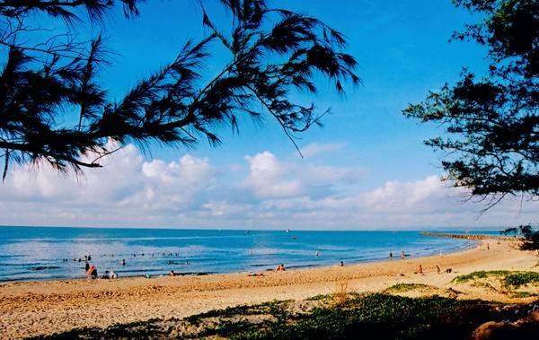 Bãi biển xanh đẹp của Phan Thiết