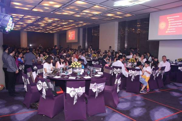 Đêm tiệc Year-End Party tại TP.Hồ Chí Minh được diễn ra tại khách sạn Pullman, với sự tham gia của đại diện các công ty thành viên của TMG. Ảnh: TMG