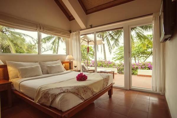 Phòng nghỉ với nội thất tinh tế.