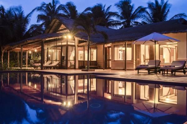 Kiến trúc độc đáo của Khu nghỉ dưỡng Victoria Phan Thiết.